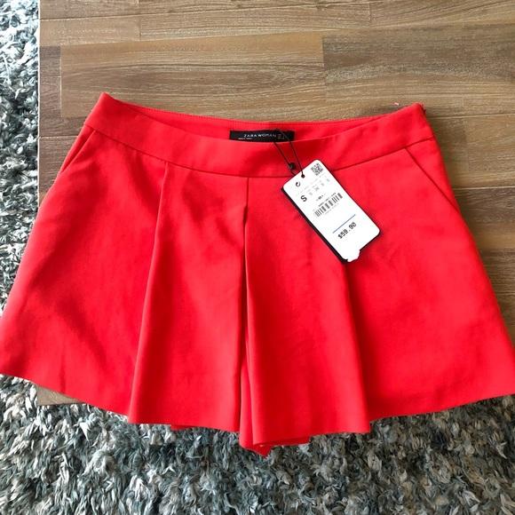 Zara Pants - Zara red skort